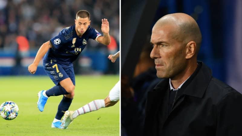 Fans Rip Into Eden Hazard After A Dreadful Champions League Night