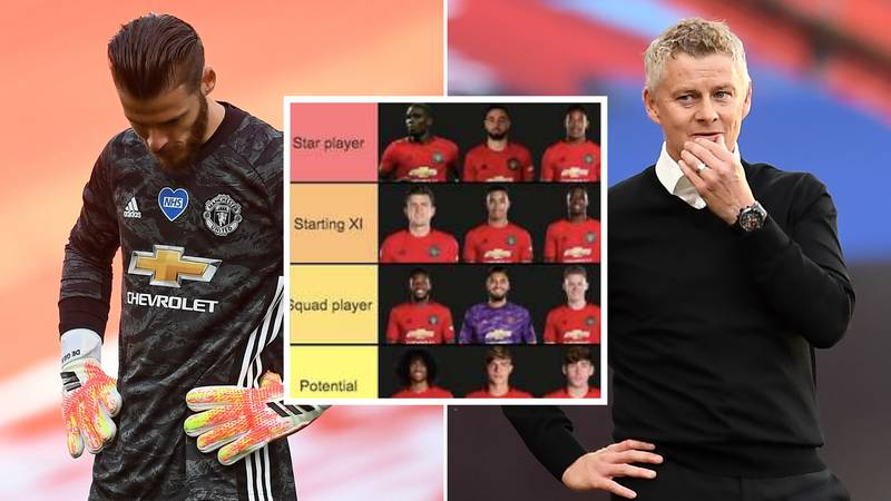 Manchester United's Squad Has Been Ranked From 'Star Player' To 'Sell Immediately'