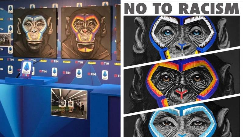 Serie A Unveil Tasteless New 'Say No To Racism' Campaign