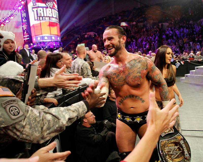 CM Punk Gave Away A Very Special Present For Christmas