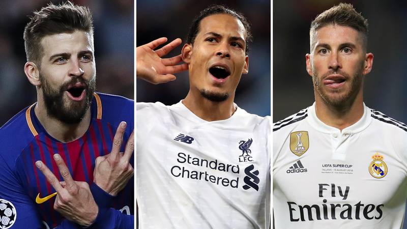Revealed: The 10 Best Centre-Backs In World Football Right Now Have Been Ranked