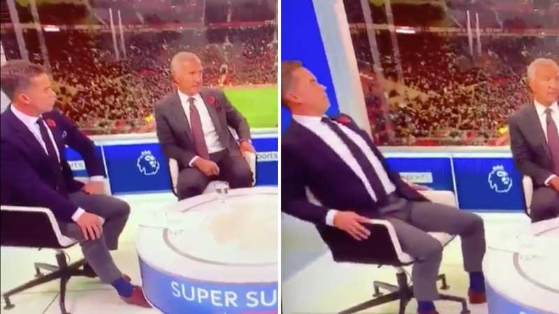 Sky Sports Pundits' Hilarious Reaction To Graeme Souness Admitting Pogba Had A Good First-Half