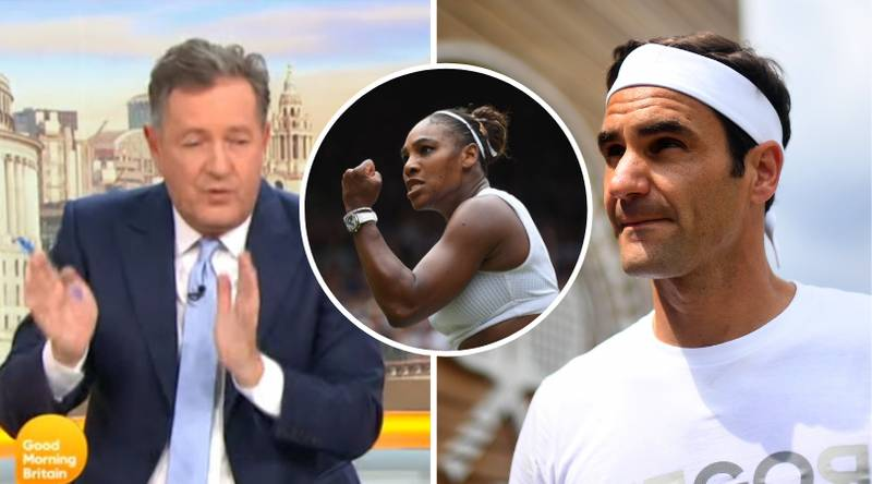Piers Morgan Would Bet £1Billion 'Roger Federer Would Beat Serena Williams 6-0 6-0' During Heated Debate