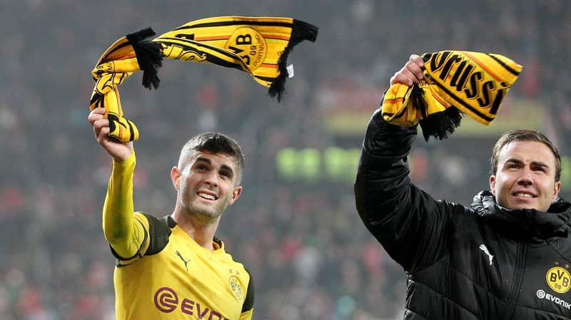 Chelsea Sign Borussia Dortmund Winger Christian Pulisic For £58 Million