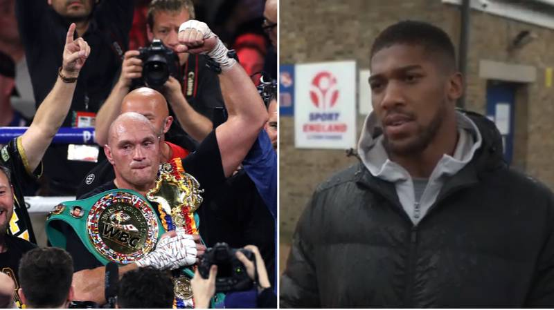 Anthony Joshua Fires Shot At Tyson Fury Ahead Of Potential Undisputed Fight