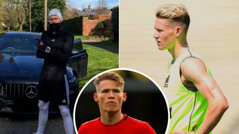 Scott Mctominay Has Completed The 5K Challenge In An Incredible Time