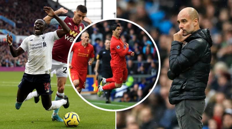 Liverpool Fans Urge Mane To Emulate Suarez's Dive Celebration Against City