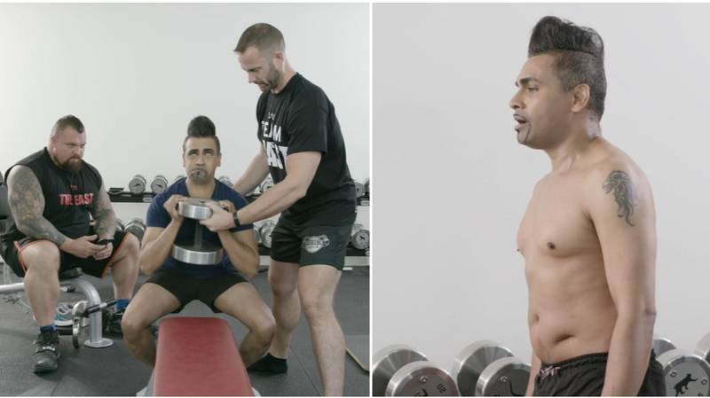 Watch Jay Kamiraz Transform His Body After A Homophobic Attack In Episode Two Of Beasted
