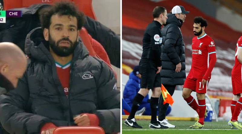 Mohamed Salah's Agent Tweets After Jurgen Klopp Subs Him In 62nd Minute Vs Chelsea