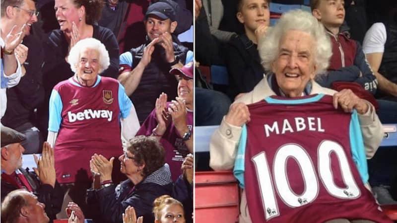 West Ham's Oldest Season Ticket Holder Mabel Arnold Has Died, Aged 102