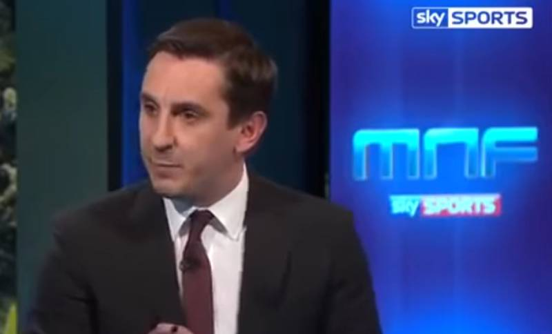 WATCH: Gary Neville Brilliantly Predicts Chelsea's Success Back In 2015