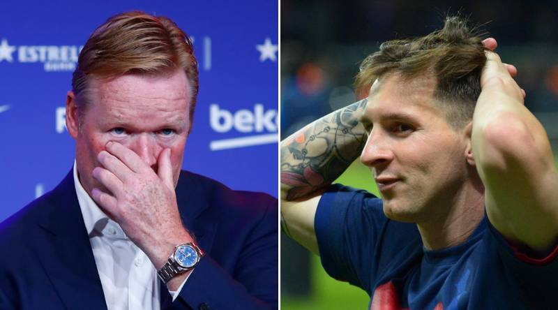 Ronald Koeman Identifies Former Player To Replace Lionel Messi
