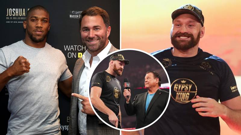 Anthony Joshua Won't Make A WWE Appearance Like Tyson Fury, Says Eddie Hearn