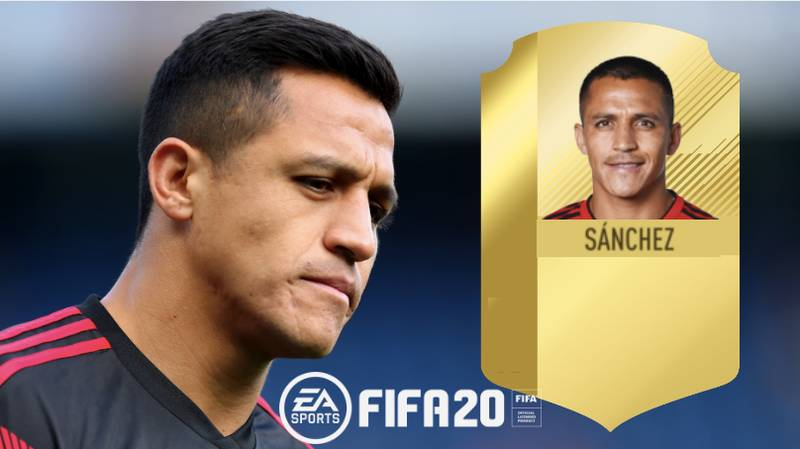 Alexis Sanchez Receives One Of The Biggest Downgrades In FIFA History With 82-Rating