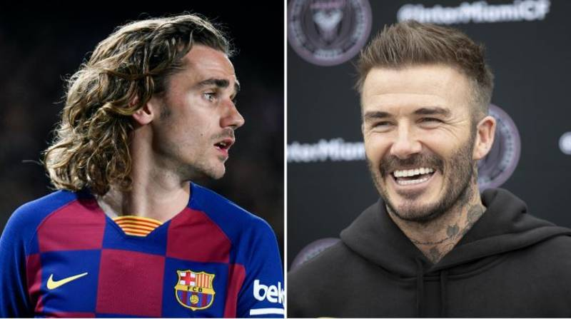 Antoine Griezmann Hints At Link Up With David Beckham