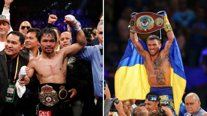 Vasyl Lomachenko Explains Why He Doesn't Want To Fight Manny Pacquiao