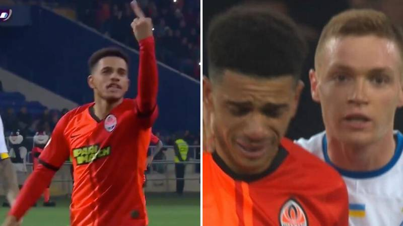 Shakhtar Donetsk's Taison Sent Off After Taking A Stand Against Racist Abuse From Dynamo Kyiv Fans