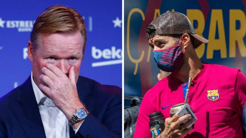 Ronald Koeman's Brutal Phone Call To End Luis Suarez's Barcelona Career 'Lasted Just 60 Seconds'