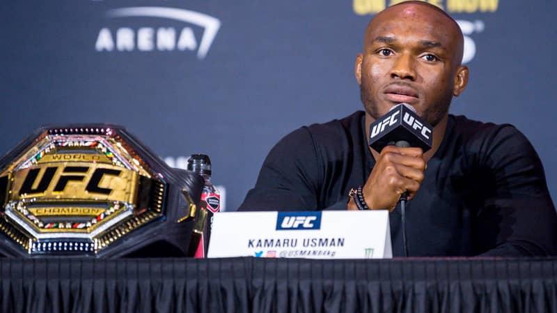 Kamaru Usman Makes Floyd Mayweather Comparison After Fans Deem UFC 251 Win 'Boring'