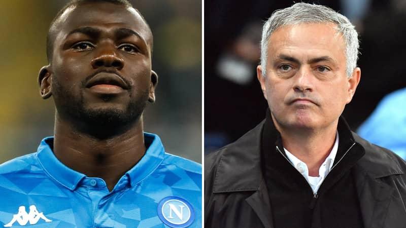 Napoli Reject Manchester United's €90m Bid For Barcelona Target Kalidou Koulibaly