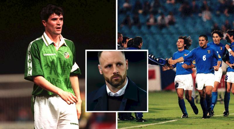Revealed: Italy Legends Were Starstruck When Meeting Roy Keane