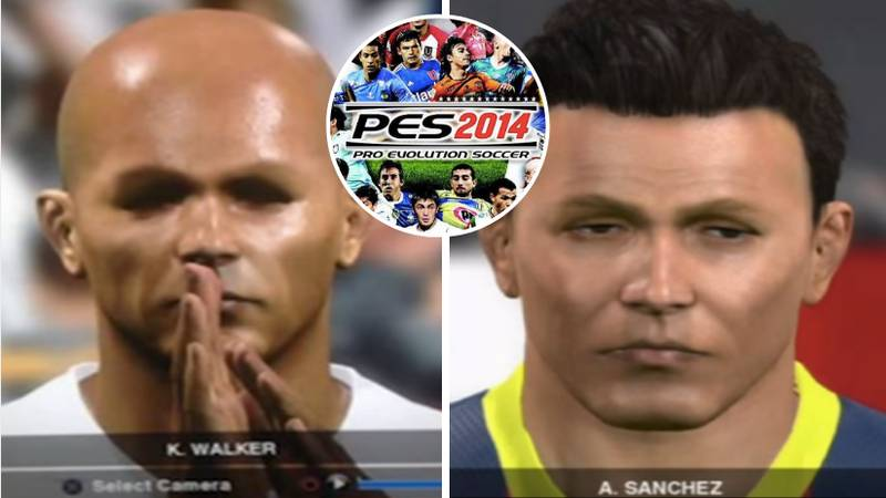 Looking Back At The Game Faces From Pro Evolution Soccer 2014