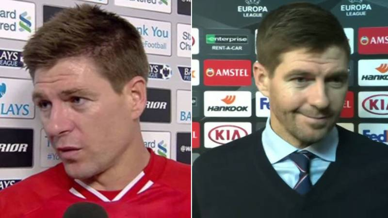 Someone Made A Compilation Of Steven Gerrard Saying 'Yeahhh Course' In Interviews