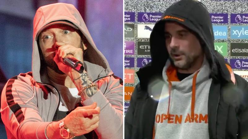 Pep Guardiola Interview Goes Viral After Someone Hilariously Adds Eminem Dub