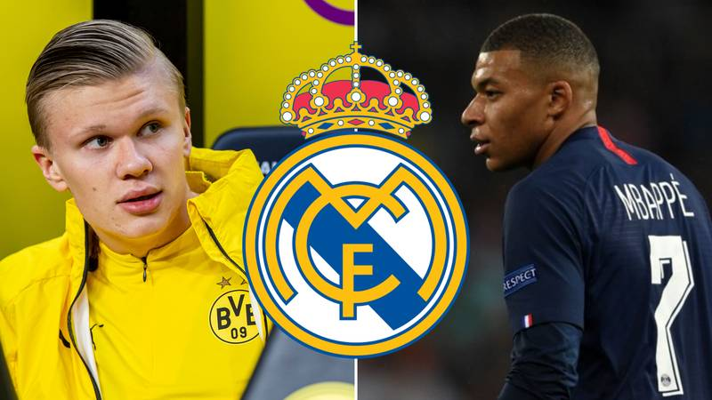 Real Madrid Want To Sign Erling Haaland In 2020 And Kylian Mbappe In 2021