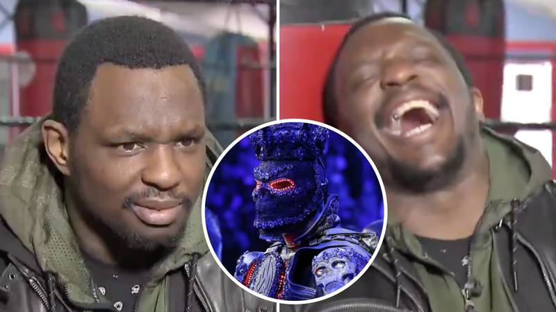 Dillian Whyte's Reaction To Deontay Wilder's Costume Excuse Is Absolutely Priceless