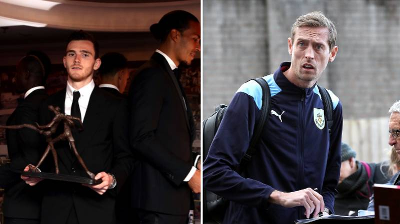 Peter Crouch Posts Hilarious Acceptance For The PFA Trophy