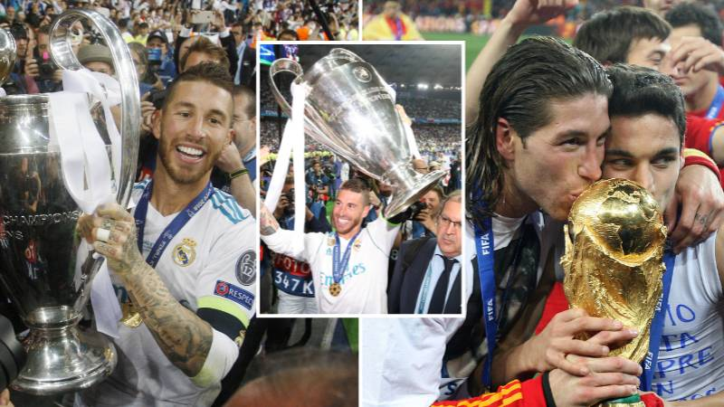 Sergio Ramos Named The Greatest Defender In Football History By Fans