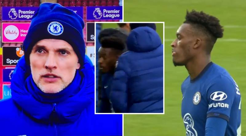 Thomas Tuchel Lays Out Why He Subbed Callum Hudson-Odoi In Brutal Post-Match Interview