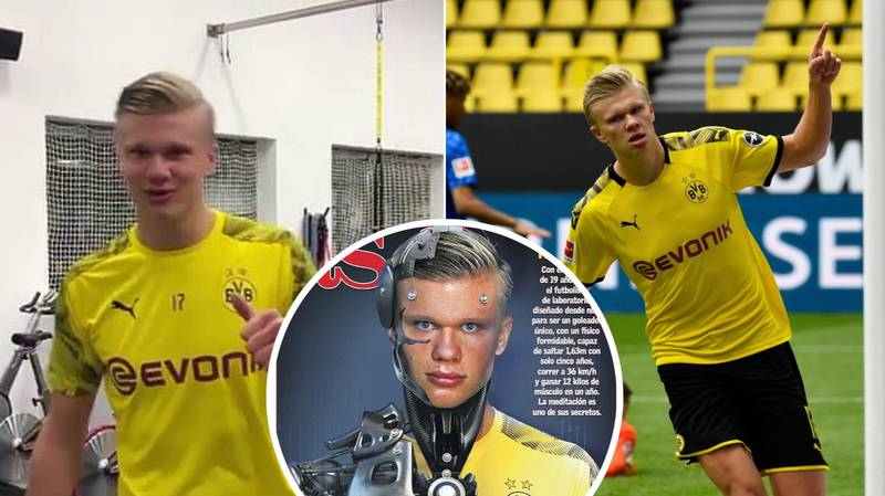 Erling Haaland Gained 26lbs Of Pure Muscle In 15 Months