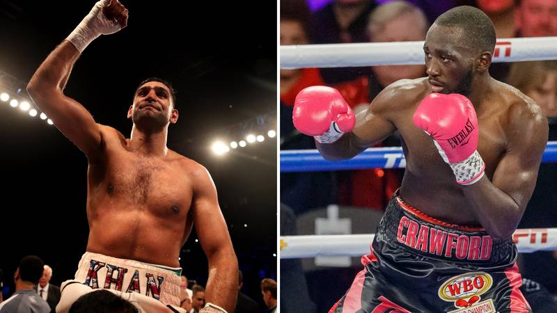 Amir Khan To Reportedly Fight Terence Crawford At Madison Square Garden
