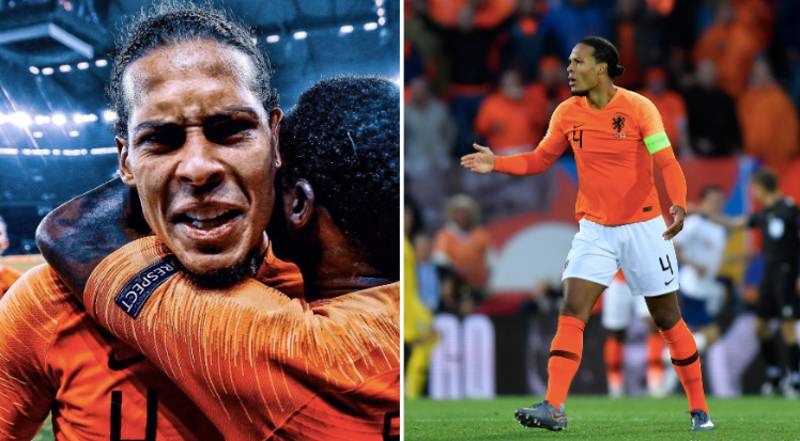 Virgil Van Dijk Produces A Masterclass Performance Against England In The Nations League