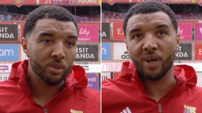 Troy Deeney Calls Sky Sports Reporter 'Cheeky B*stard' On Live TV