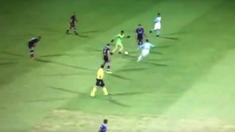 WATCH: Perth Glory's Goalkeeper Was On A Mad One Today