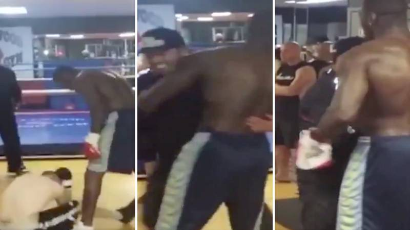 Remembering When Deontay Wilder Destroyed Internet Troll Charlie Zelenoff For His Vile Abuse