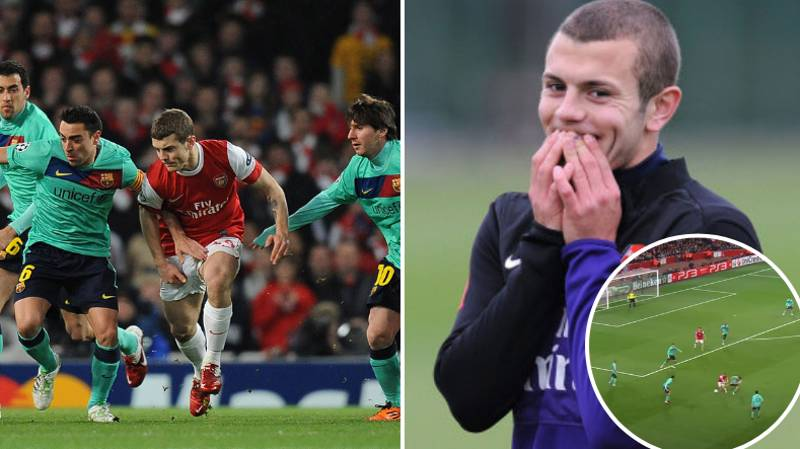 Jack Wilshere's Incredible Answer When Asked What He Learned Playing Against Xavi And Andres Iniesta