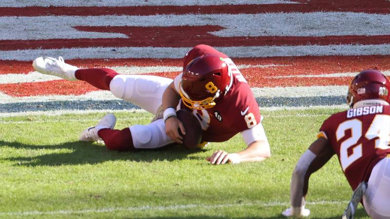 Gruesome Leg Snap Leaves NFL Quarterback's Foot Facing The Wrong Way
