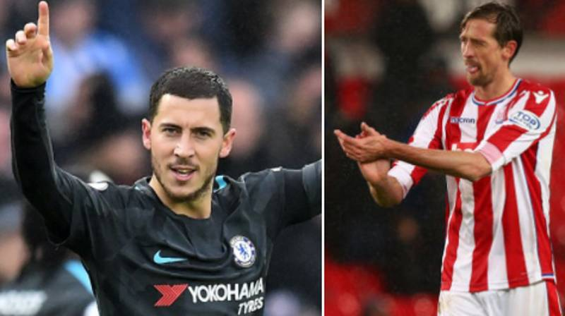 Eden Hazard Reacts To Chelsea Inquiring About Crouch, Response Is Brilliant