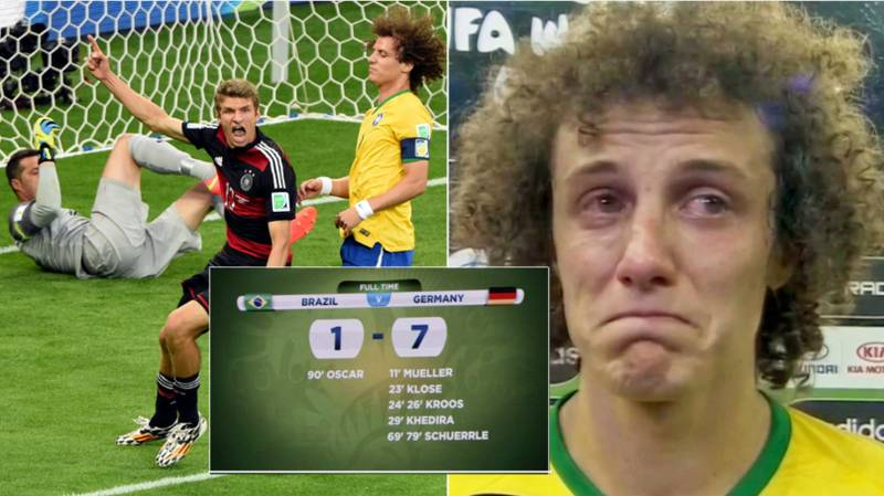 Brazil's 7-1 Loss To Germany Voted Greatest World Cup Moment