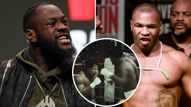 Bare-Knuckle Boxing Simulation Between Mike Tyson Vs Deontay Wilder Ends In A Brutal KO