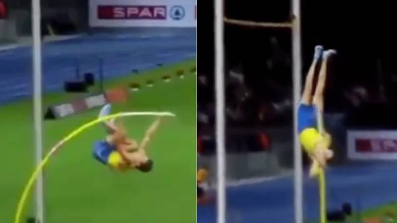 Swedish Pole Vaulter 'Defies The Laws Of Physics' With Incredible World Record Attempt