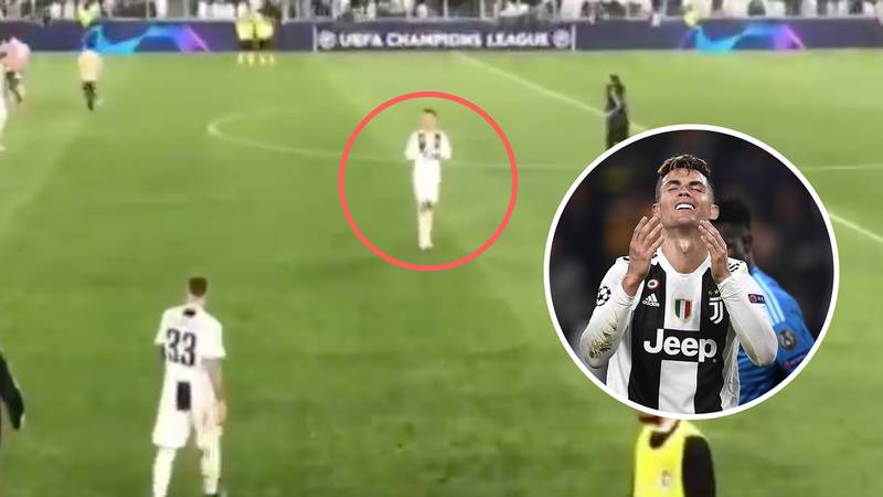 What Cristiano Ronaldo Was Spotted Saying To Juventus Teammates After Ajax Match