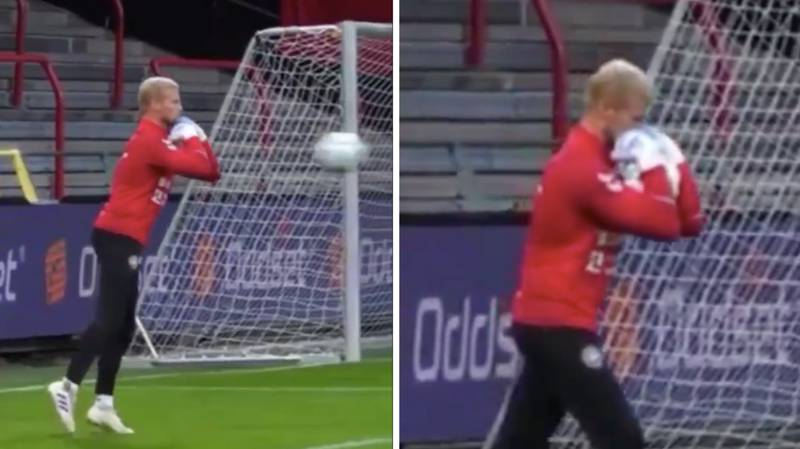 'The Danish Catch' Goalkeeping Technique Will Blow Your Mind