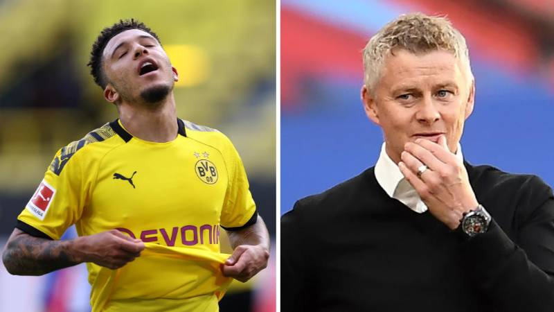 Borussia Dortmund Chief Rules Out Jadon Sancho Transfer To Manchester United