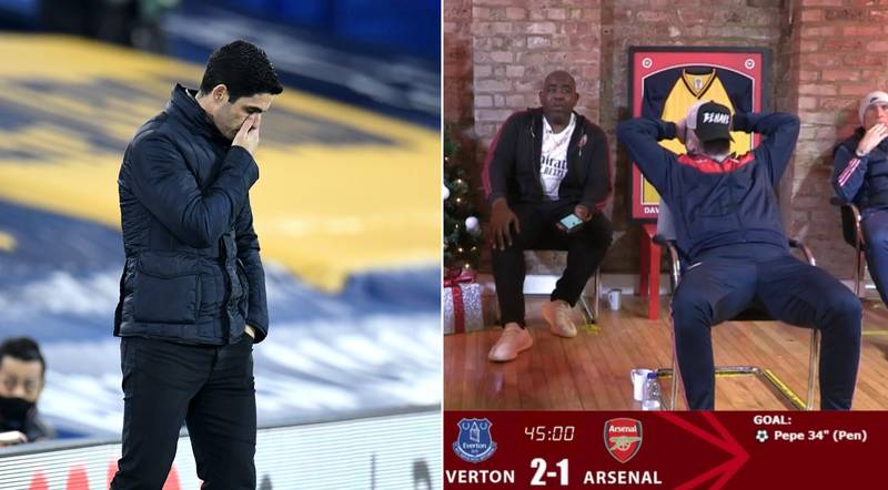 Arsenal Fans Hit Rock Bottom After Defeat To Everton