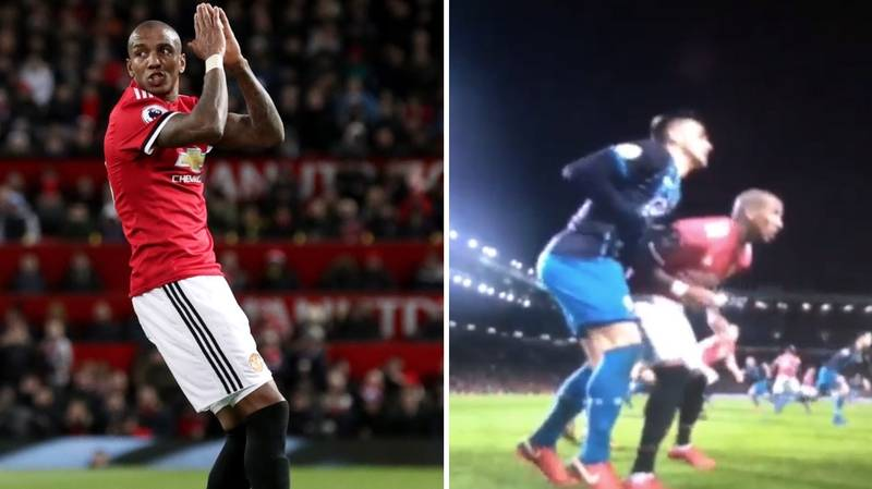 Calls For Ashley Young To Be Banned For What He Did Against Southampton
